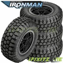 4 Ironman All Country M/t 33x12.50r15 6/c 108q Owl 4wd Truck All-season Mud Tire
