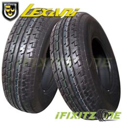 2 Lexani Lxst-105 235/85r16 105l Trailer Tires For Auto Boat Camper Commerical