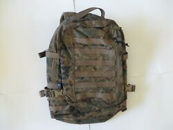 Usmc Issue Recon Assault Pack Woodland Marpat Molle Arc'teryx Ilbe Backpack