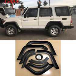 For Toyota Land Cruiser Lc70 75 76 77 Fj79 Fender Flares Wheel Arch Unpainted 8x