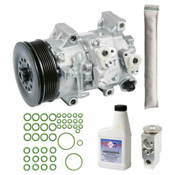 For Toyota Corolla And Matrix Oem Ac Compressor W/ A/c Repair Kit Csw