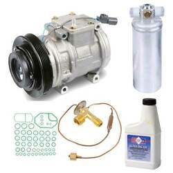 For Acura Tl 1996 1997 1998 Oem Ac Compressor W/ A/c Repair Kit Csw