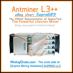Bitmain Antminer L3+++ And Apw3 Psu • Tuned L3+ 🔥stable 700mh/s🔥 Doge Ltc Miner