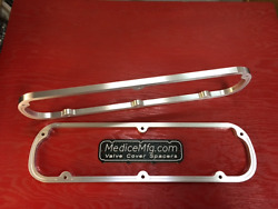Valve Cover Spacers 1/2 Ford Small Block 289 302 351w With Gasketlok Sbf