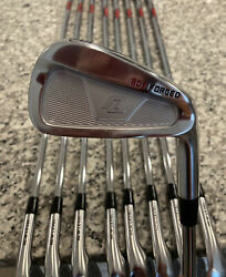 Great New Level Golf 5-lw 902 Forged Irons And 3 Wedges Kbs Tour Regular +1 Inch