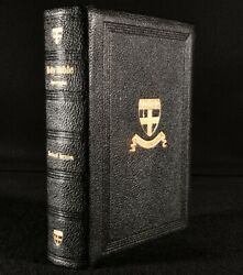 C1900 The Holy Bible New Testament Old And New Testament With Apocrypha Leath...