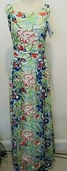Cote Nicole Embroidered Pleated Dress Sleeveless Cocktail Party Size It 44 Nwt