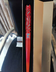 2010 Guangzhou Disabled Asian Games Torch Certificate And Box H 70cm