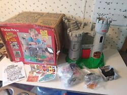 Vintage 1996 Fisher Price Great Adventures Castle New Nos Open Box 77110