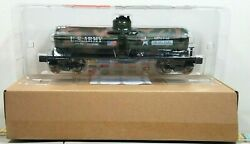 Menards O Gauge Us Army Military Single Dome Tank Car Mth Lionel Compatible