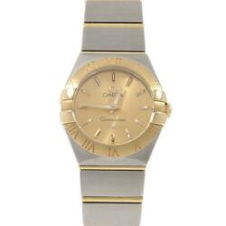 Authentic Omega 123.20.24.60.08.001 Constellation Gold And Steel Ssxyg Quartz ...