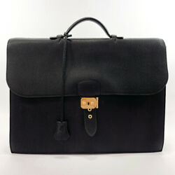 Hermes Briefcase Sac Adepeche Taurillon Clemence Mens
