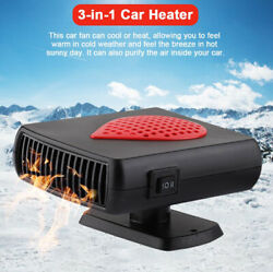 12v 150w Car Heater Dash Mount And Hand Portable Hot And Cold Fan Defroster Demister