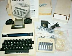 The Superprint 400 Tty Text Telephone Device By Ultratec Ascii W/ Modular Nos