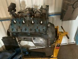 Vintage Ford Flathead Engine 239 Cu In Early 50and039s