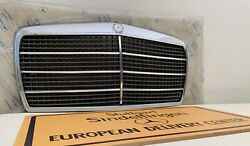 Hood Grill Assembly Genuine New Mercedes Benz W114 W115 C114 Coupe