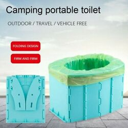 Portable Travel Folding Toilet Urinal Mobile Seat Porta For Camping Long Trip
