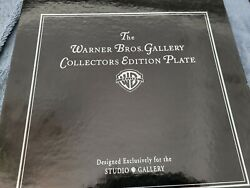 Warner Bros Gallery Collectors Edition Plate Seasons-set Of 4- Extremely Rare.