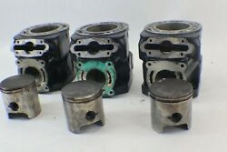Polaris 785 Pro Top End Pistons And Cylinders