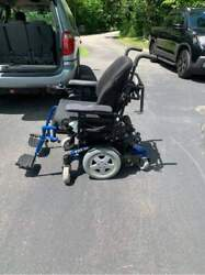 Electric Power Wheelchair Nu-motion Used Working Condition With Battery Pack