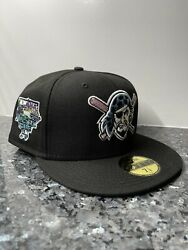7 7/8 Pittsburgh Pirates 2006 All Star Game Sky Blue Uv Fitted Hat New Era 5950