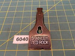 Vtg Stanley Plane Part Chipped Two Line Early 604 605 Bedrock Lever Cap 6040