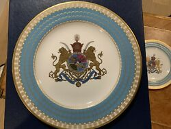 Spode Imperial Plate Of Persia 1971 Limited Edition Rare Persia In Mint Conditio