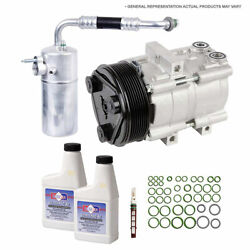 For Ford Focus 2012 2013 2014 2015 Oem Ac Compressor W/ A/c Repair Kit Csw