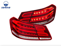 Anzo Tail Lights Led Red/clear For 10-13 Mercedes-benz E Class W212 4dr 321331
