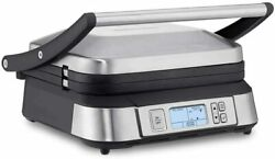 Cuisinart Contact Smokeless Mode Griddler Gr6s Grill / Griddle Combo Cook 6 Ways