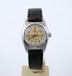 Vintage Rolex Oyster Perpetual 2940 Bubble Back Automatic Serviced 1945 1946