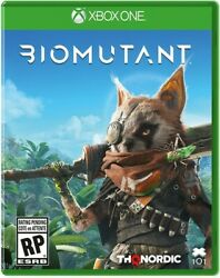 Sealed Biomutant - Microsoft Xbox One Brand New - Ships From Usa - Ships Fast