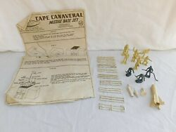 Vintage Marx Atomic Cape Canaveral Missile Base Instructions And Parts Only