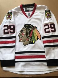 Bryan Bickell Chicago Blackhawks Official Jersey Reebok Size 50 Stitched Read