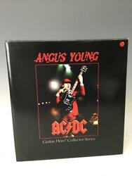 Ac/dc Angus Young Guitar Hero Collector Series Statue Figure Rare Knuckle Bonz