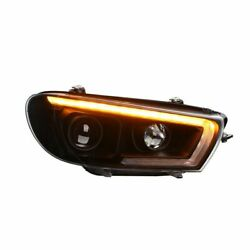 For Hid Version Model 2008-2015 Year For Vw Scirocco Led Head Lights Lamps Sn