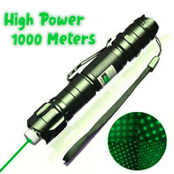 High Power Military Hunting Burning Green Laser Pointer 10000m Beam Project