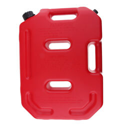 10l Red Portable Fuel Tank Can Gasoline Diesel Suv Atv Motorcycle Container