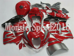 Injection Mold Fairing Fit For Suzuki Gsxr 1300 Hayabusa 1997-2007 Abs Red Aal