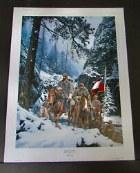 John Paul Strain - The Romney Expedition - Collectible Civil War Print - Mint