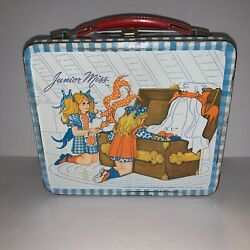 Vintage Junior Miss Metal Lunchbox 1973 No Thermos See Pics E6