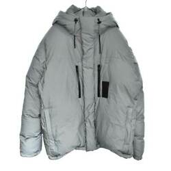 Louis Vuitton 19ss Reflective Quilted Patch Ski Down Jacket Silver 1a4t2d _1442