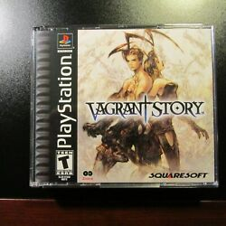 Vagrant Story Ps1 Black Label Playstation 1 Unplayed Copy New Complete Mint