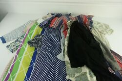 Lot Of 15 Vintage Womens And Kids Clothing Dresses Jacket Shirts