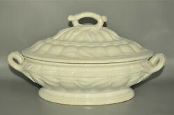 Antique Original Porcelain Ironstone Elsmore And Forster Ceres Wheat Tureen Bowl
