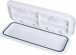 Abs Deck Hatch Access Hatch Window And Lid 24 X 9-5/8 White Us Ship Marine Boat