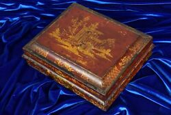 C. Goodall And Son London Playing Card Case Royal Game Bezique Bridge Poker