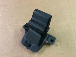 87-93 Ford Mustang 8.8 Axle Housing Rubber Body Stopper W/ Bracket And Hardware Oe