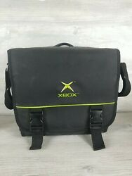 Vintage Official Microsoft Original Xbox Carrying Case Travel Bag