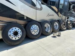 05 Country Coach Rv Motor Home Set Of 6 Aluminum 22.5x8.25 Budd Wheels And Tires